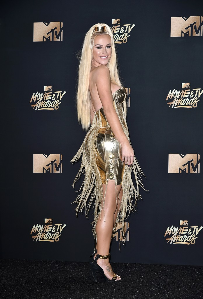 Gigi Gorgeous attends the 2017 MTV Movie and TV Awards at The Shrine Auditorium on May 7, 2017 in Los Angeles.