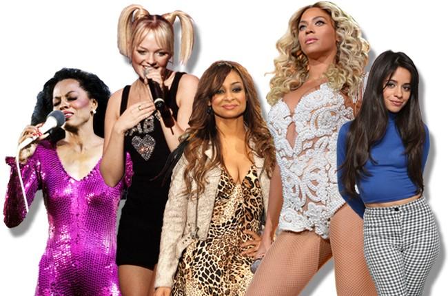 Diana Ross, Emma Bunton, Raven Symone, Beyonce, and Camila Cabello