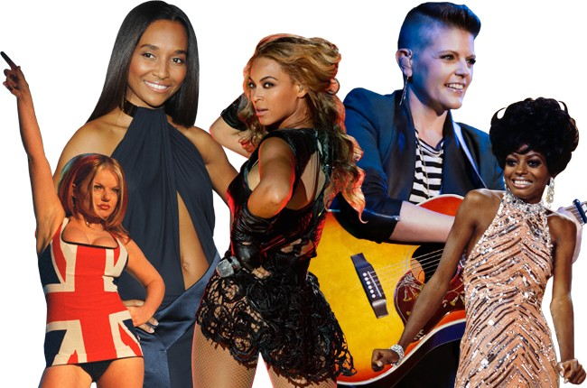 Ginger Spice, Chilli, Beyonce, Natalie Maines, Diana Ross
