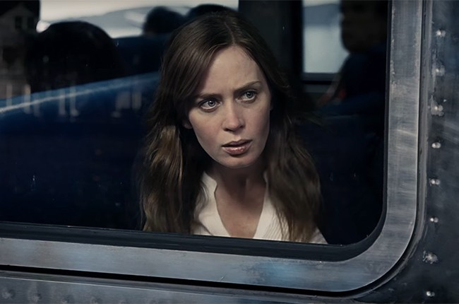 Emily Blunt girl on the train 2016