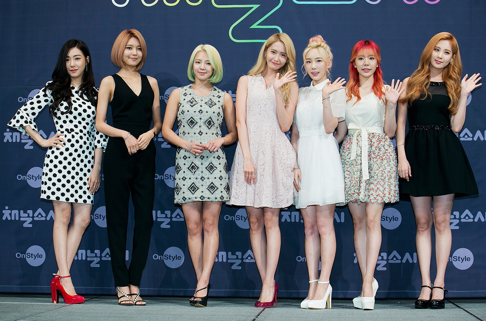 Girls' Generation photographed in Seoul