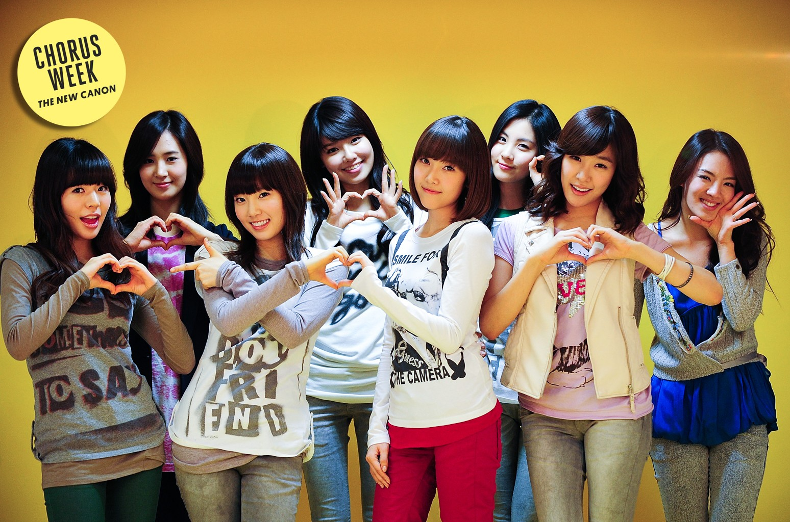 Girls' Generation photographed on Jan. 6, 2009 in Seoul, South Korea.