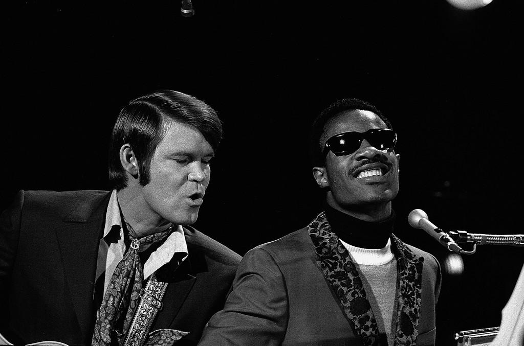 Glen Campbell & Stevie Wonder, 1969