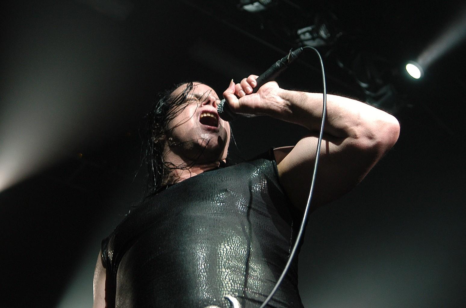 Glenn Danzig performs during the Blackest of the Black tour
