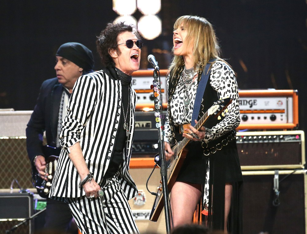 Glenn Hughes & Grace Potter Perform at the Rock Hall Induction