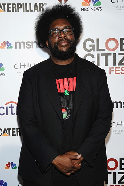 Questlove at Global Citizen Fest 2014