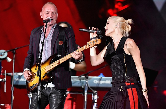 Sting and No Doubt Global Citizen Fest 2014