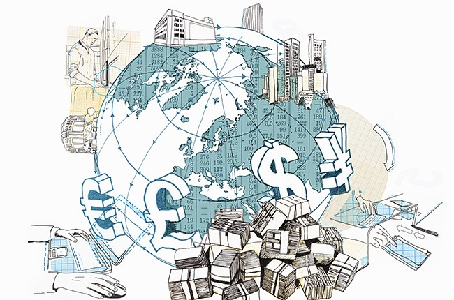 Globe Money Illustration