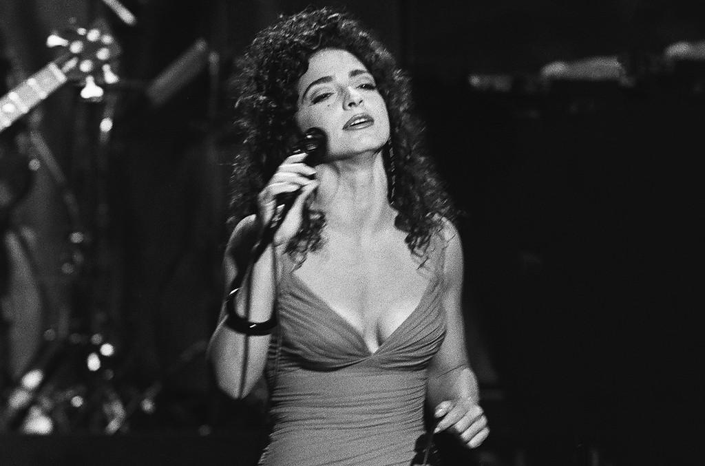 Gloria Estefan performs on July 18, 1991.
