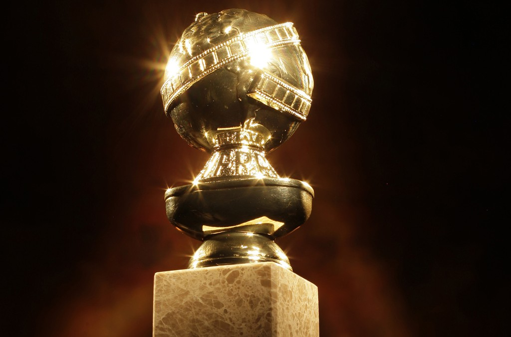 The Golden Globe Awards statuette.