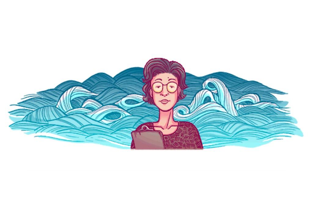 google doodle Katsuko Saruhashi
