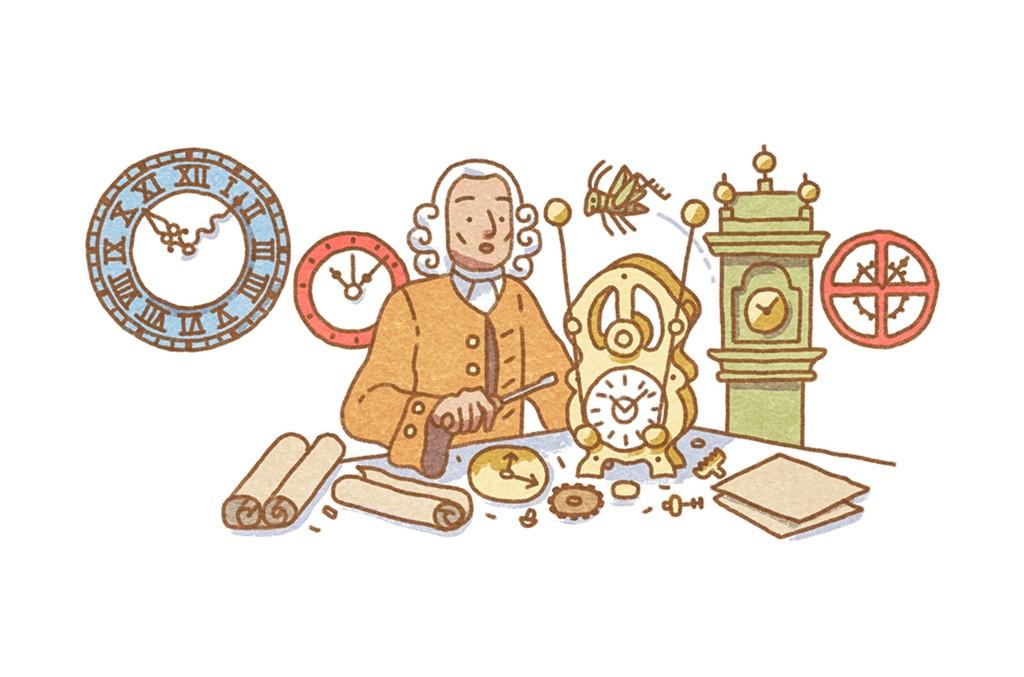 Google Doodle John Harrison