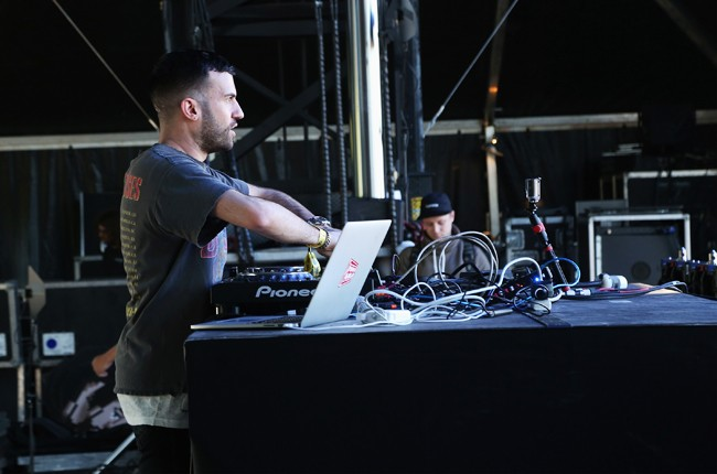 A-Trak performs during the 2015 Governors Ball Music Festival