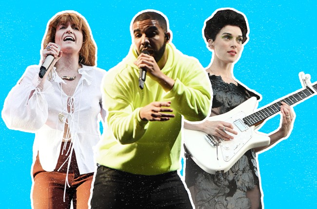 Governors Ball Top Ten Performances: Drake, St. Vincent, Florence and the Machine