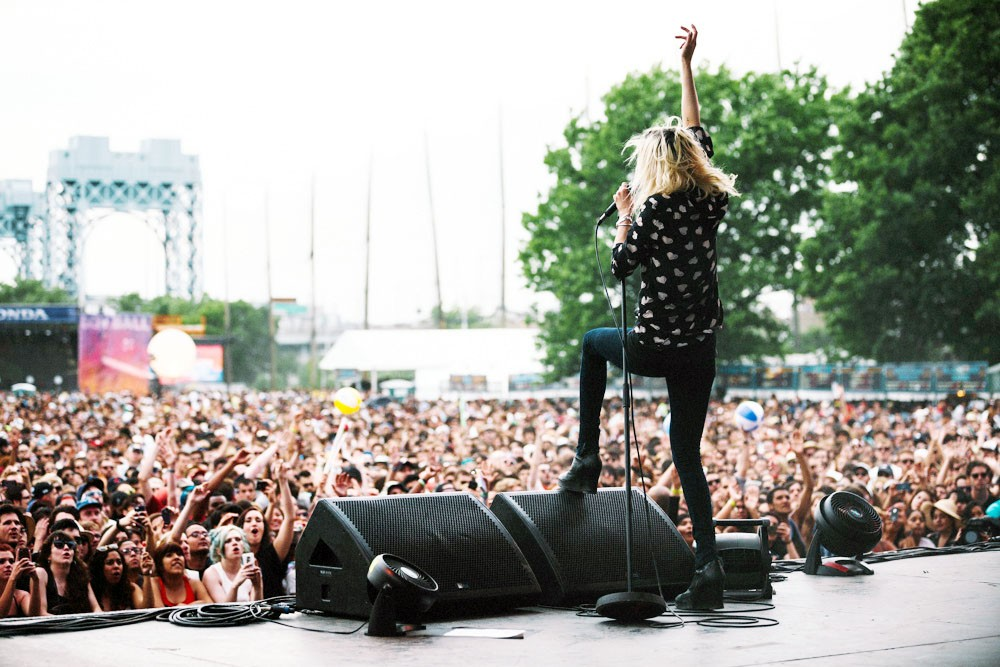 Alison Mosshart, the Kills
