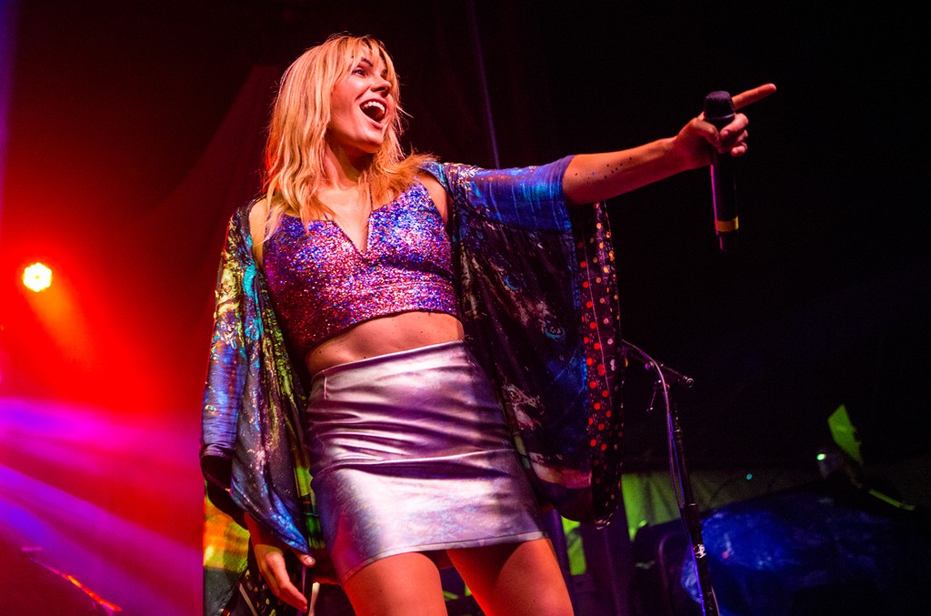 Grace Potter performs at South Shore Harbor
