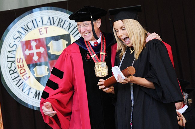 Grace Potter receives an honorary degree