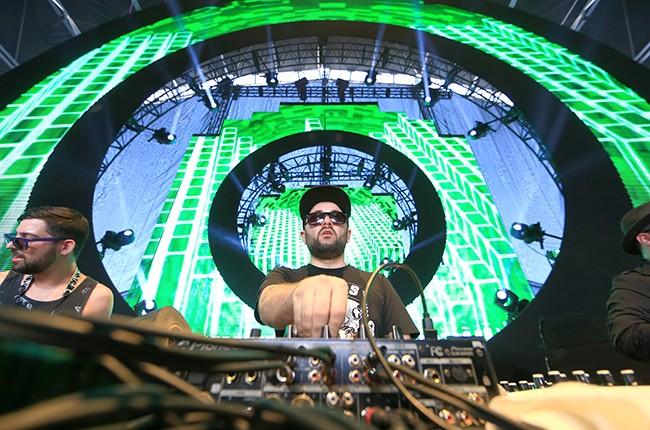 Russ Liquid and DJ Gramatik
