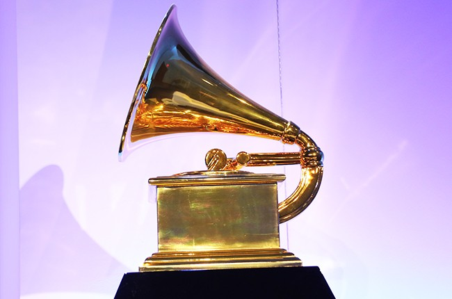 A Grammy Award photographed in 2015.