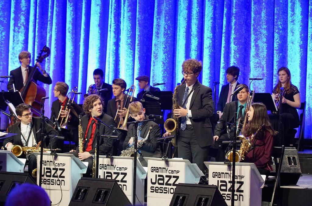Grammy Camp Jazz Session members, 2018