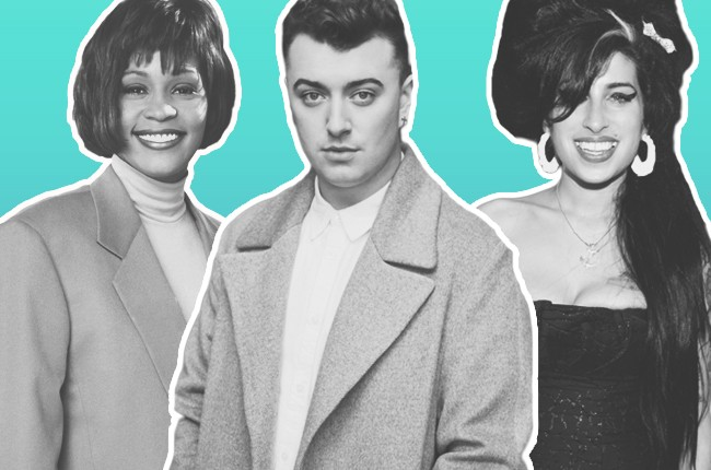 Whitney Houston Sam Smith Amy Winehouse