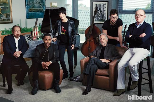 2016 Grammy roundtable featuring Ken Erlich, Big Sean, Dianne Warren, Neil Prtnow, Jack Antonoff and Steve Barnett