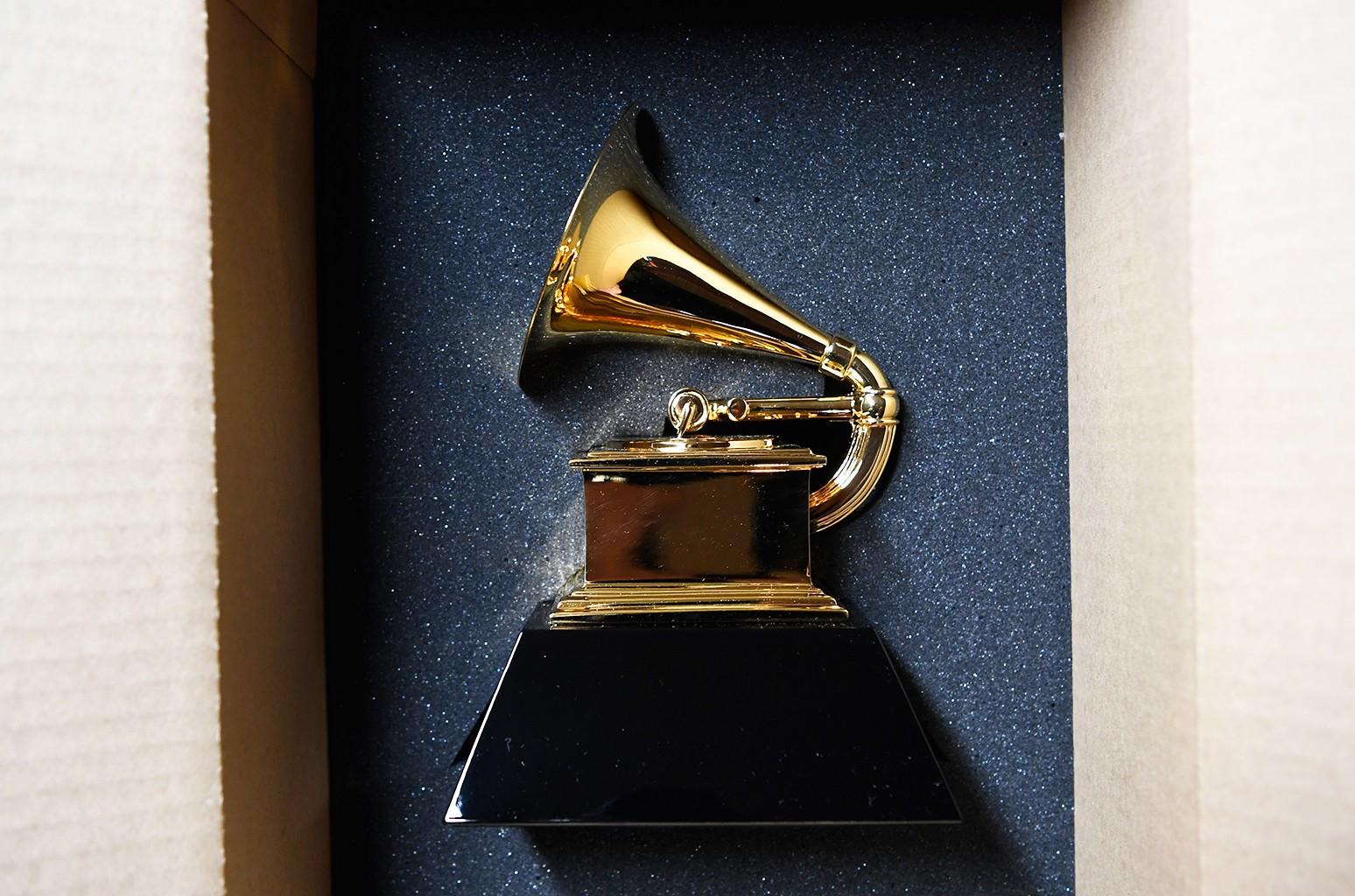 Grammy trophy