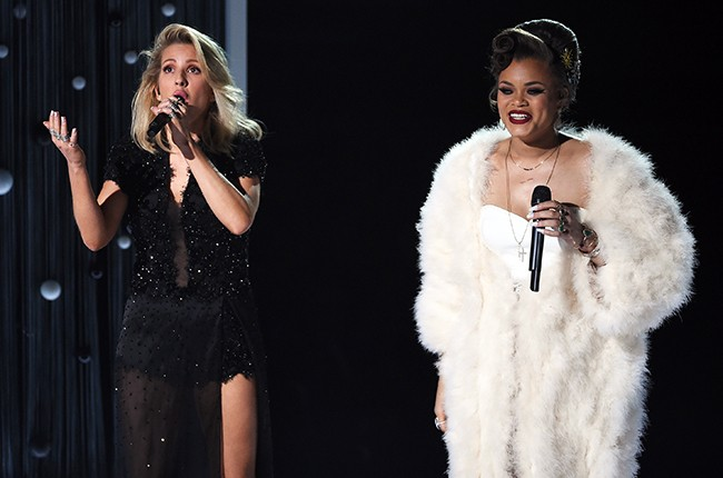 Ellie Goulding and Andra Day