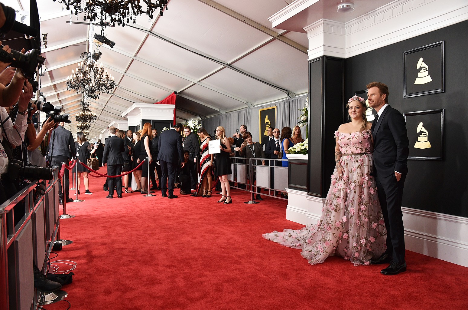 The 59th Annual Grammy Awards at the Staples Center on Feb. 12, 2017 in Los Angeles.