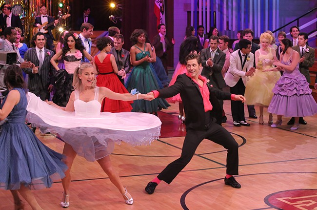 Grease Live Julianne Hough and Aaron Tveit