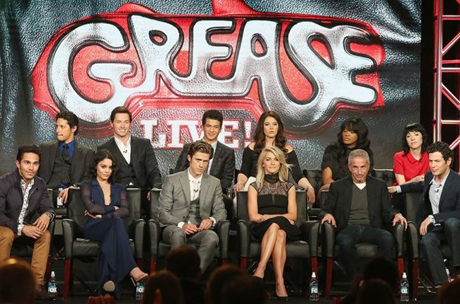 """Grease: Live!"" cast at TCA"