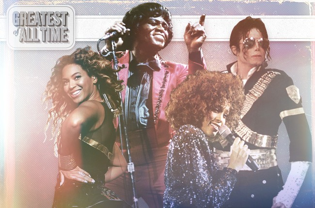 greatest of all time: r&b singers