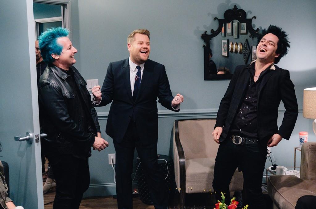 Green Day & James Corden