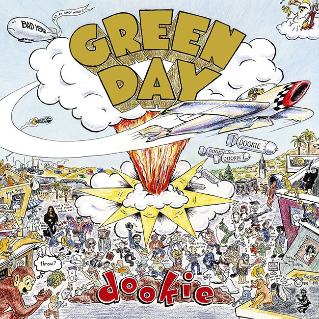 Green Day: Dookie, 1994.