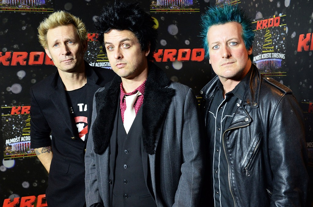 Green Day attend KROQ's Almost Acoustic Christmas