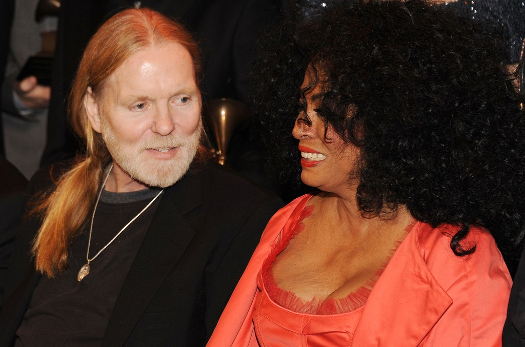 Grammy Lifetime Achievement Award winners Gregg Allman and Diana Ross following The 54th Annual Grammy Awards -  Special Merit Awards Ceremony at The Wilshire Ebell Theatre on Feb. 11, 2012 in Los Angeles.