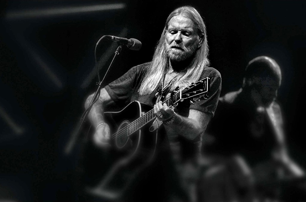 Gregg Allman performs at the King Biscuit Blues Festival on Oct. 12, 2013 in Helena, Ark.