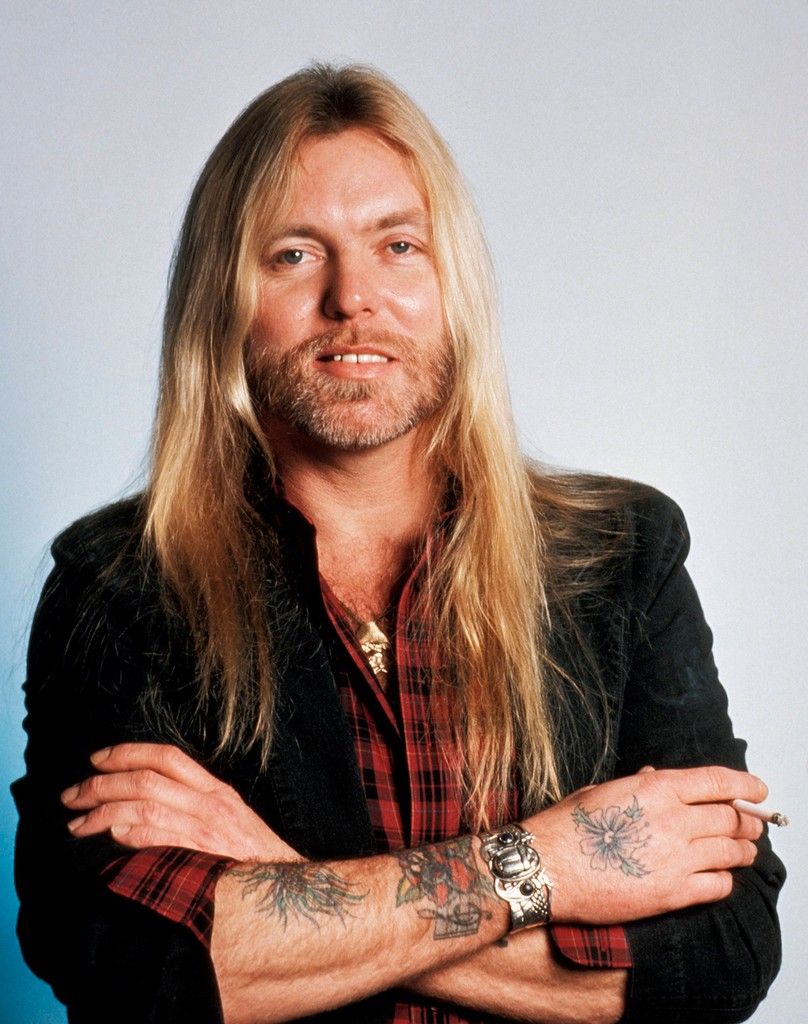 Gregg Allman photographed in 1987.