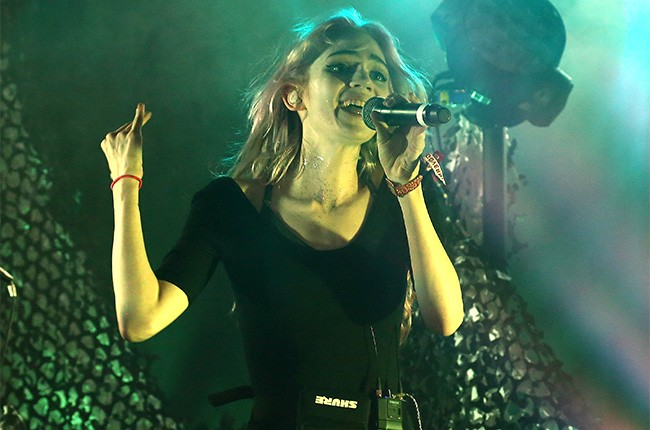Grimes at Governors Ball 2014