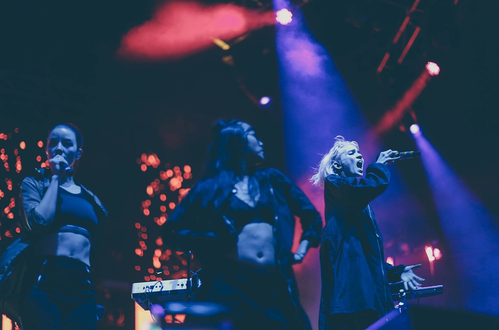 Grimes performs at Moogfest