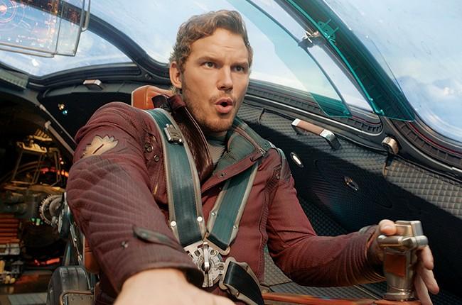 Chris Pratt in Marvel's Guardians Of The Galaxy
