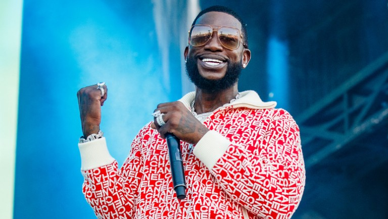 <p>Gucci Mane performs at the Osheaga Music and Art Festival at Parc Jean-Drapeau on Aug. 2, 2019 in Montreal, Canada.&nbsp&#x3B;</p>