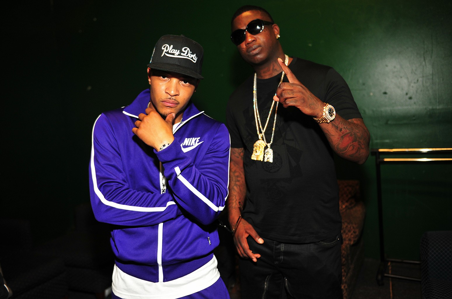 Gucci Mane and T.I.