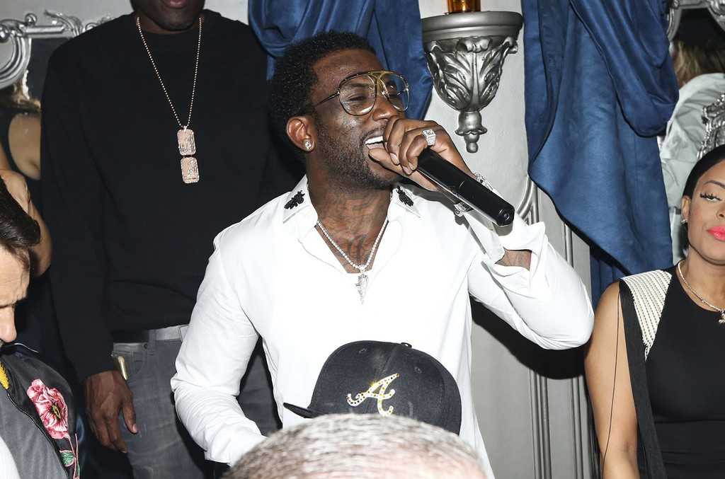 Gucci Mane performace at Up&Down on Sept. 22, 2016.