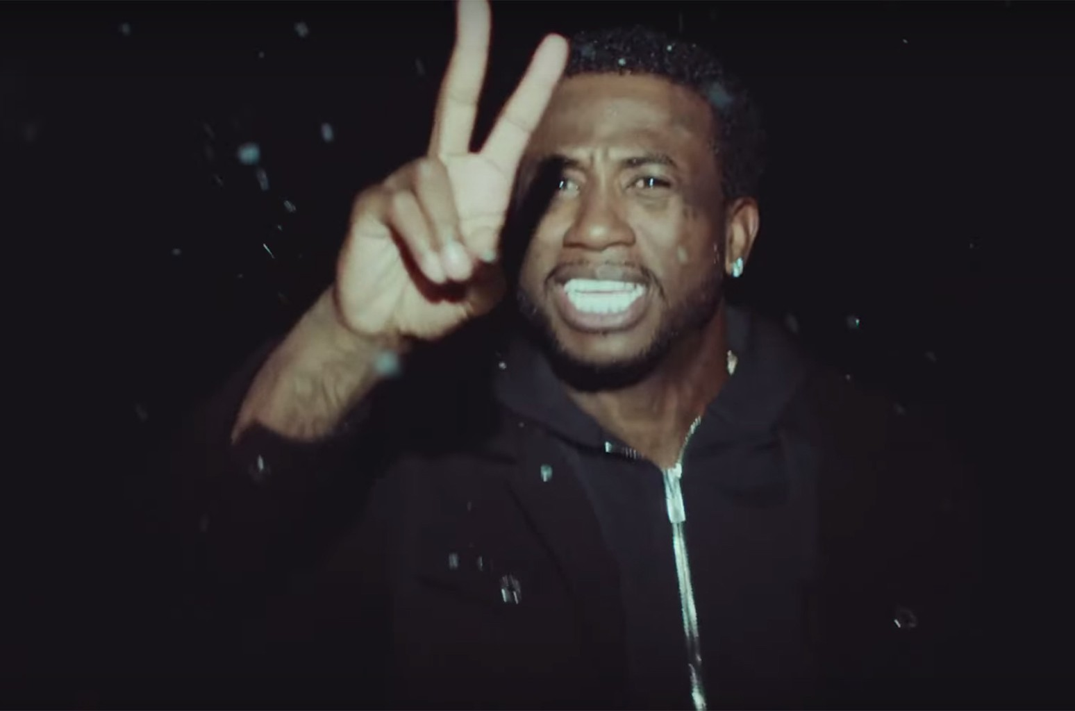 """Gucci Mane in the video for """"Last Time."""""""