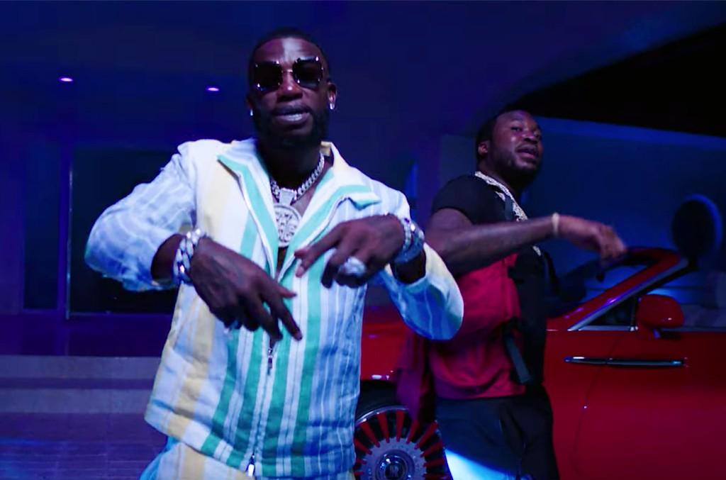 "Gucci Mane ft. Meek Mill, ""Backwards"""