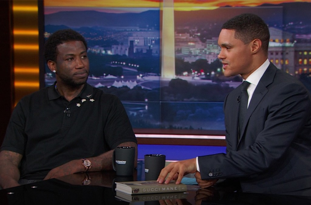 Gucci Mane on The Daily Show with Trevor Noah