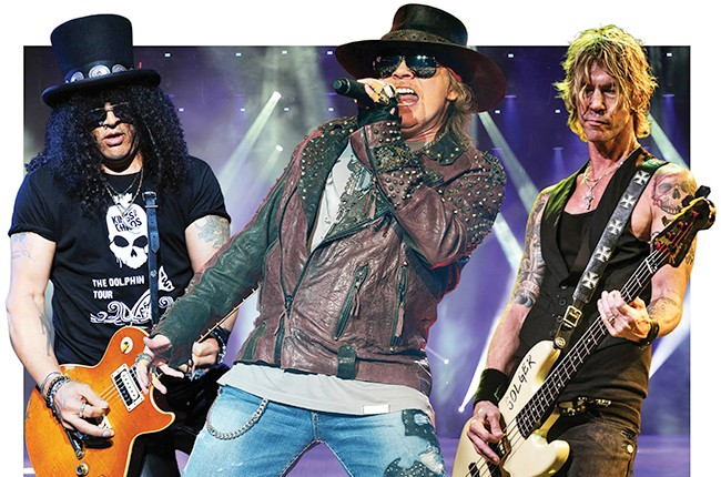 Guns N' Roses to reunite and perform in 2016.