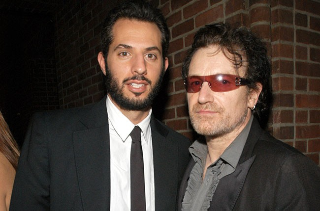 Guy Oseary and Bono, 2003.