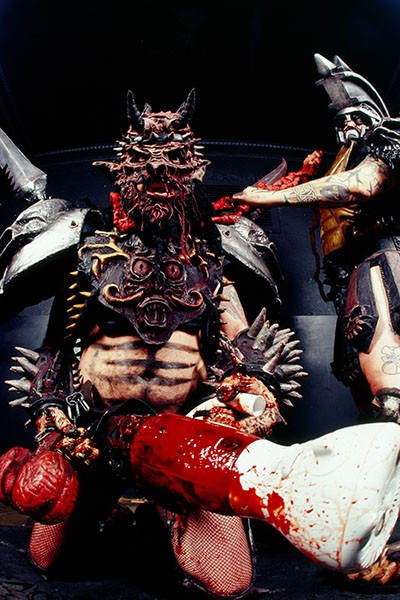 Oderus Urungus and Beefcake the Mighty of Gwar